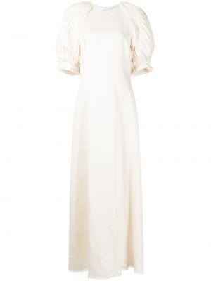 Beżowa sukienka mini Gabriela Hearst