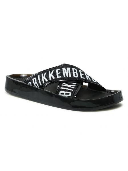 Czarne sandały casual Bikkembergs