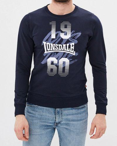 Синяя свитшот Lonsdale