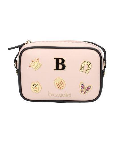 Różowa torebka Braccialini