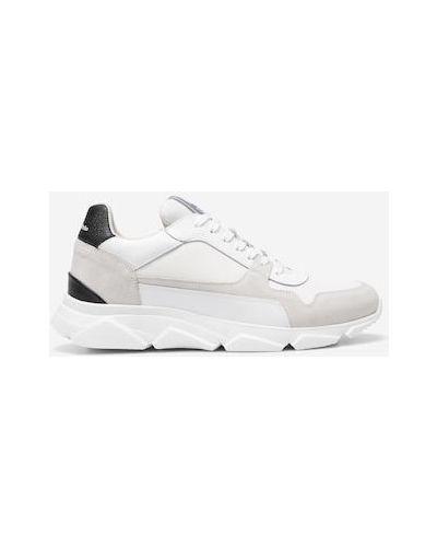 Czarne klasyczne sneakersy Marc O Polo