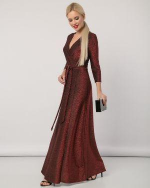 Платье с поясом с запахом платье-сарафан Jetty