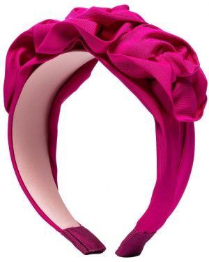 Ободок на голову розовый Jennifer Behr