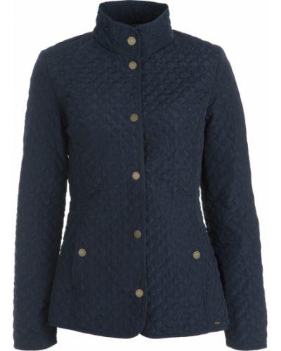Куртка на молнии синий Luhta