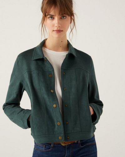 Зеленая куртка Springfield