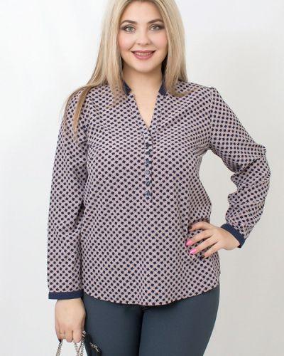 Розовая блузка осенняя Balsako