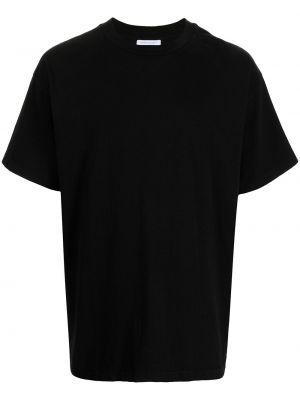 T-shirt bawełniana - czarna John Elliott