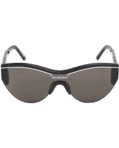 Черные солнцезащитные очки Balenciaga