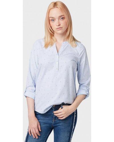 Блузка с длинным рукавом индийский весенний Tom Tailor Denim