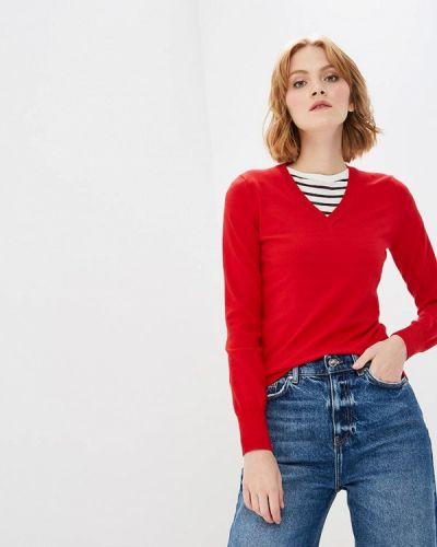 Красный пуловер 2018 Modis
