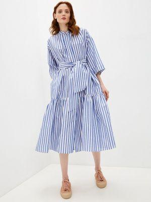 Платье - синее Weekend Max Mara