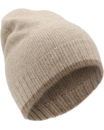 Бежевая шапка кашемировая Tsum Collection