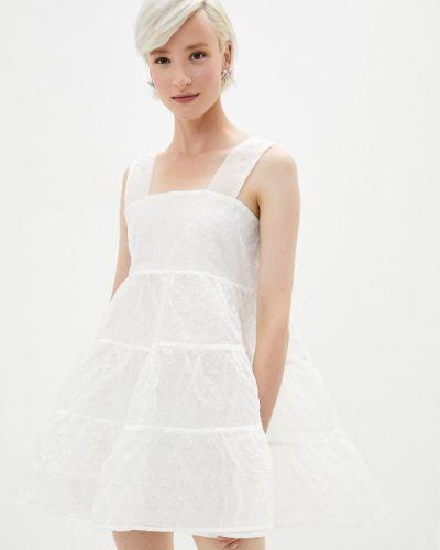 Прямое белое платье Sister Jane