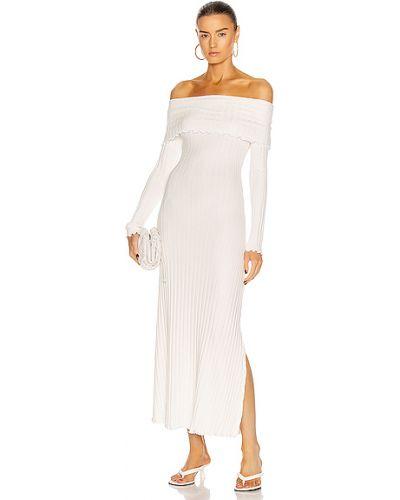 Sukienka - biała Simon Miller