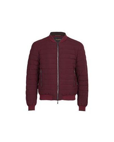Куртка демисезонная бордовый Moorer