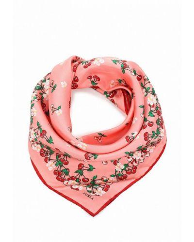 Розовый платок носовой Furla
