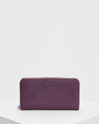 Фиолетовый кошелек Dkny