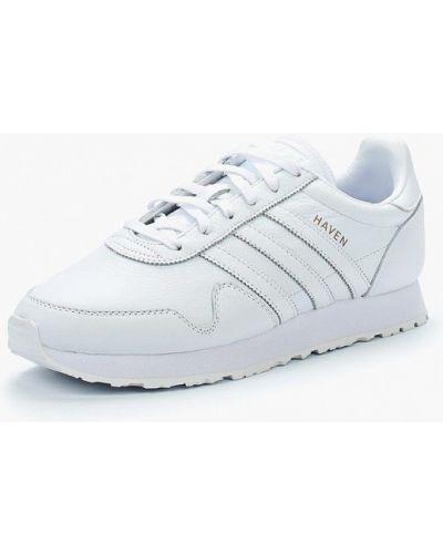 Белые кроссовки резиновые Adidas Originals