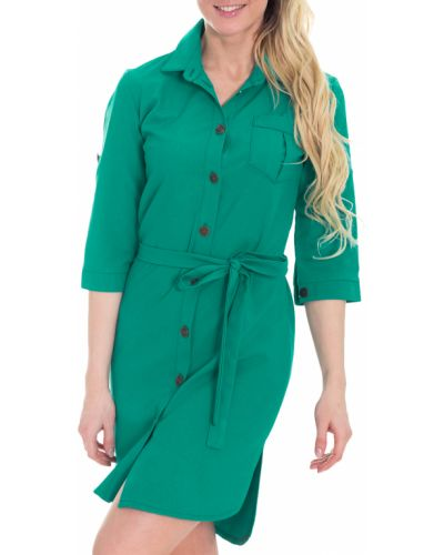 Платье с поясом на пуговицах сафари Lacywear