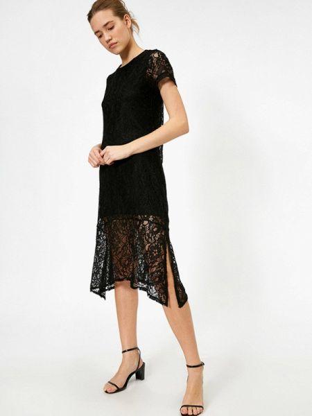 Черное платье Koton