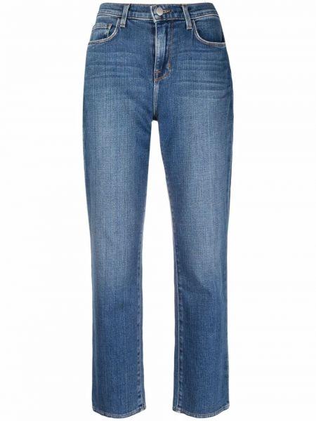 Укороченные прямые джинсы - синие L'agence