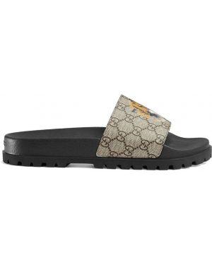 Sandały beżowy żółty Gucci