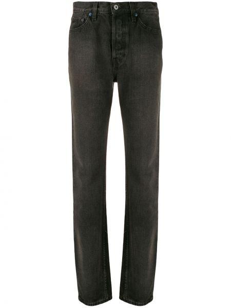Прямые джинсы классические - черные Yeezy