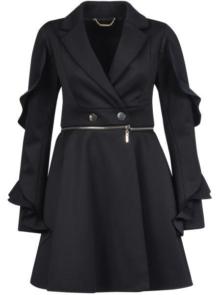Пальто осеннее черный Mangano