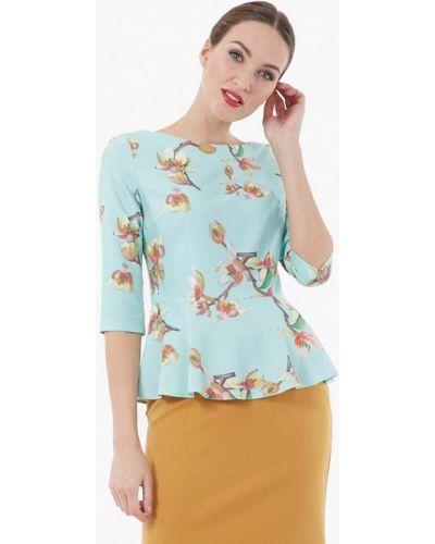 Бирюзовая блузка Vladi Collection
