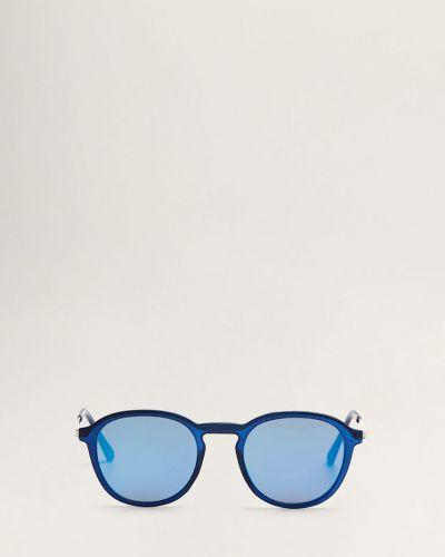 Солнцезащитные очки стеклянные синий Mango Man