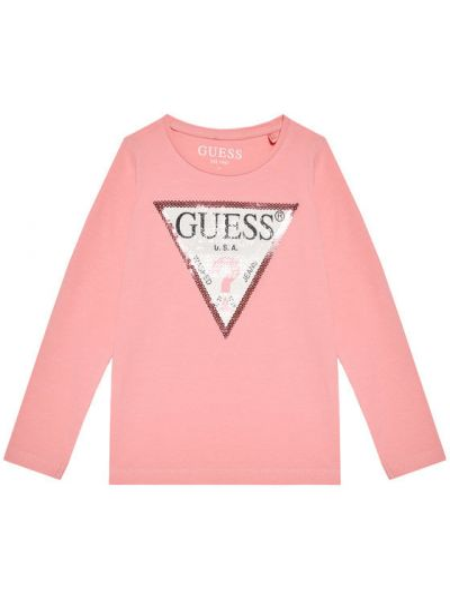 Różowa bluzka Guess