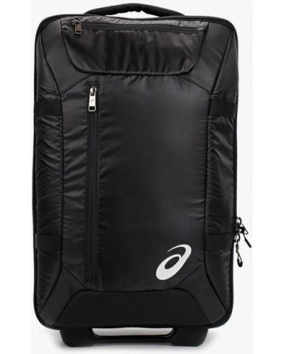 Черный чемодан Asics