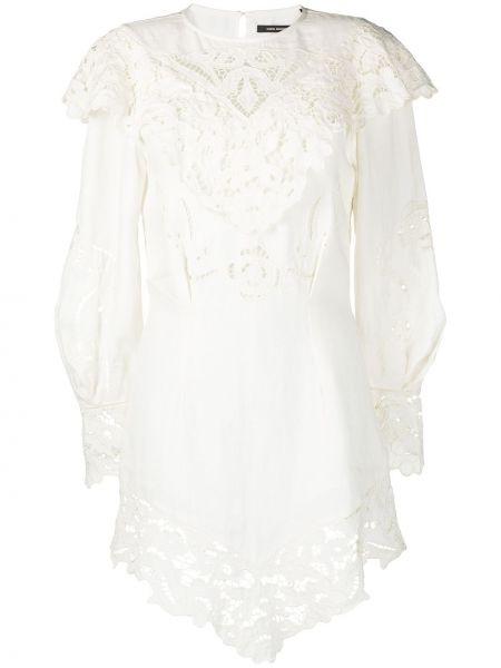 Кружевное платье - белое Isabel Marant