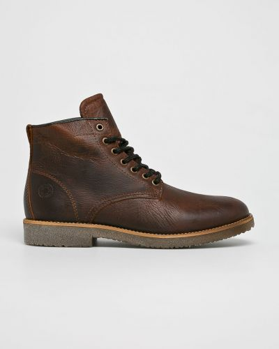 Кожаные ботинки текстильные повседневные Bullboxer