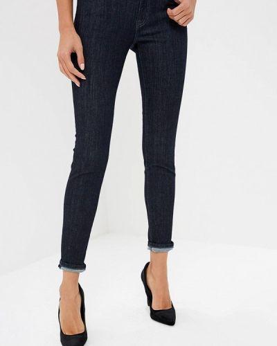 Синие джинсы-скинни Rifle