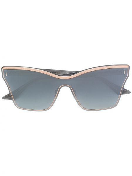 Солнцезащитные очки металлические хаки Dita Eyewear