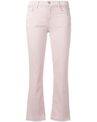 Укороченные джинсы расклешенные на пуговицах J Brand