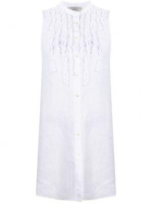 Белая рубашка без рукавов на пуговицах Antonelli