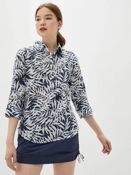 Рубашка с длинным рукавом синяя Columbia