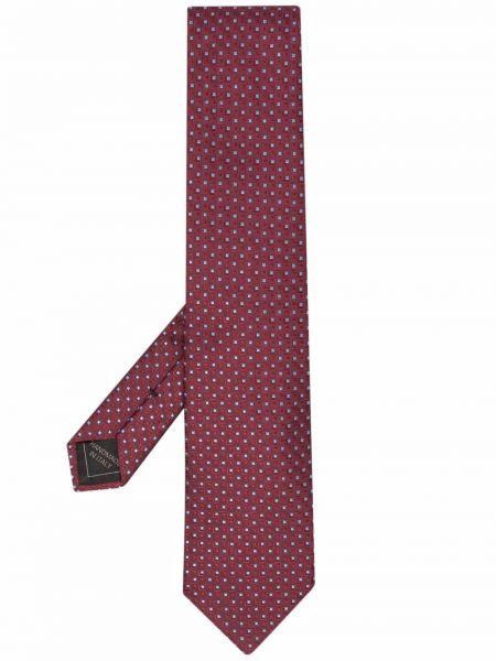 Красный галстук Brioni