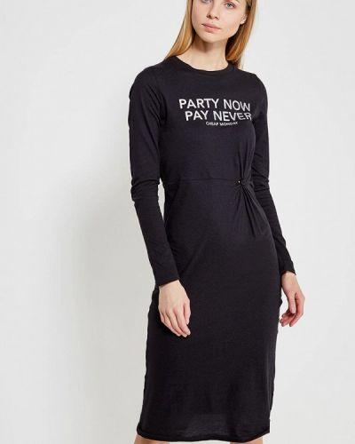 Черное платье футболка Cheap Monday