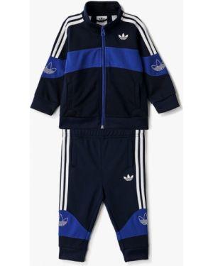 Спортивный костюм синий костюмный Adidas Originals