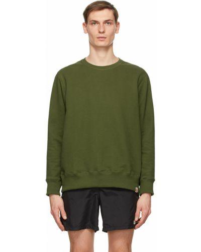 Zielona bluza długa z długimi rękawami Bather