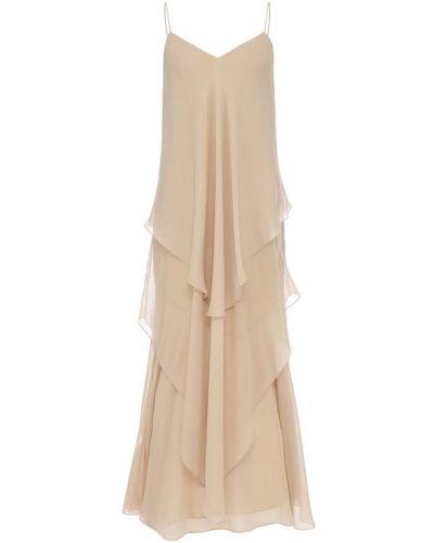 Платье платье-комбинация каскадное Ralph Lauren