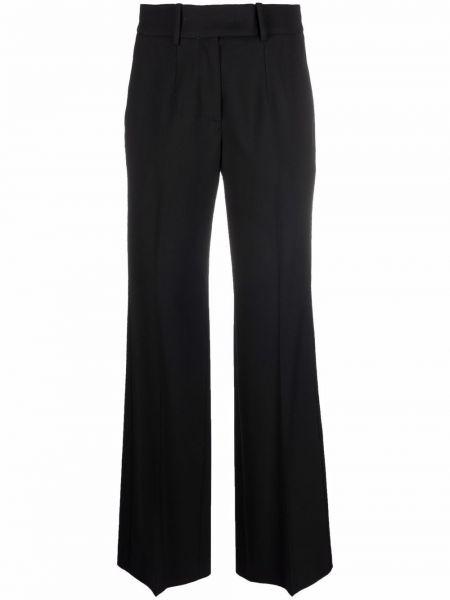 Черные шерстяные брюки Tela