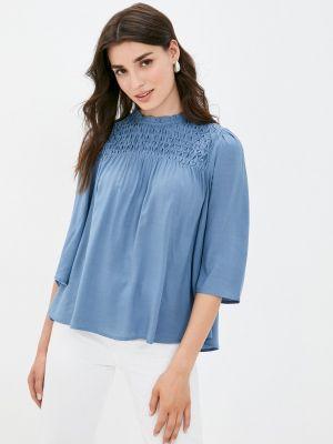 Блузка - голубая Mbym