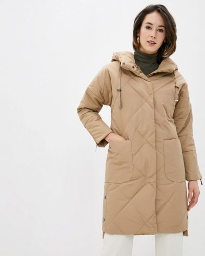 Бежевая утепленная куртка Dizzyway