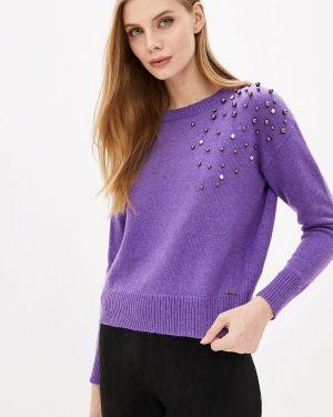 Фиолетовый свитер Pdk