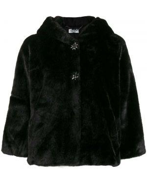 Куртка черная оверсайз Liu Jo