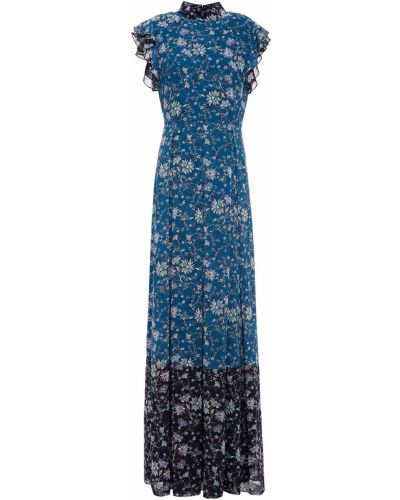 Платье с принтом Mikael Aghal